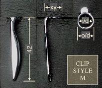 Clip style M